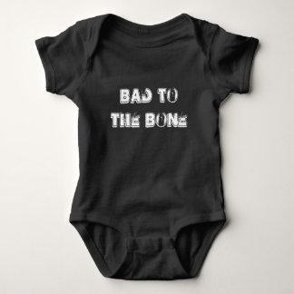 Bad to the Bone - Infant Snap T - Boys Baby Bodysuit