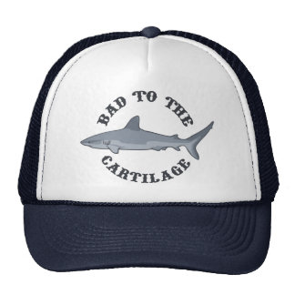 Bad to the Cartilage Mesh Hats
