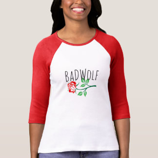 """Bad Wolf"" Rose T-shirt"