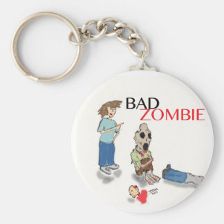 Bad Zombie Key Ring