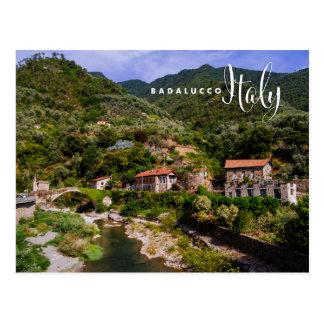 Badalucco Italy Postcard