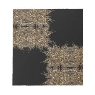 badark gold notepad