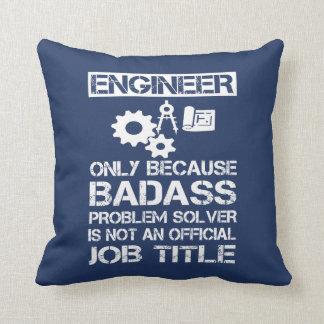 Badass Engineer Cushion