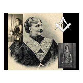 Badass Female Masons Postcard