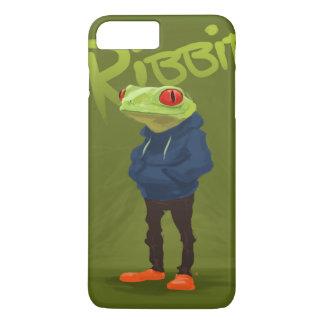 Badass Frog Ribbit iPhone 7 Plus Case