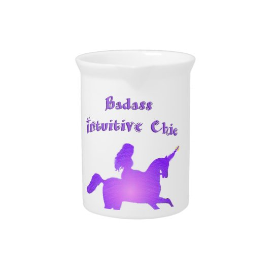 Badass Intuitive Chic with Unicorn Pitcher