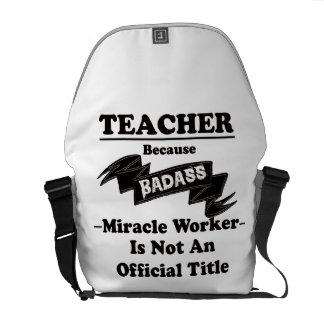 Badass Teacher Commuter Bags