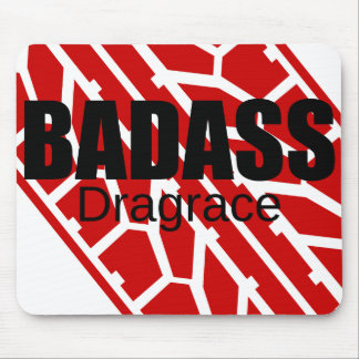 Badass Tyre - Dragrace Mouse Pad
