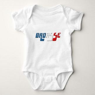 BADASSE FRANCE BABY BODYSUIT