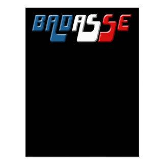 BADASSE FRANCE POSTCARD