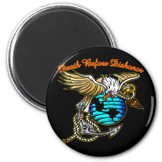 Badazz Eagle Death Before Dishonor Magnet