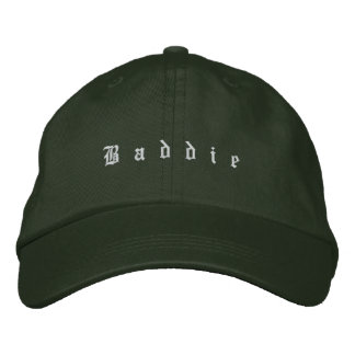 Baddie Dad Hat Embroidered Baseball Caps