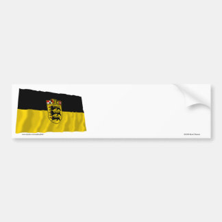 Baden-Wuerttemberg Flag Bumper Sticker