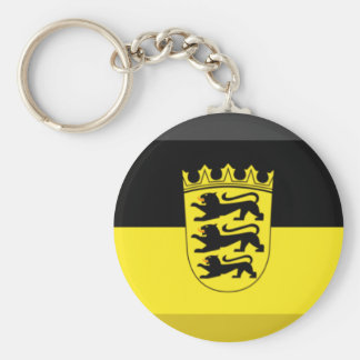 Baden-Wuerttemberg Flag Gem Key Chains