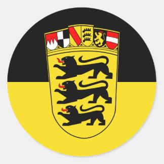 Baden-Württemberg Classic Round Sticker