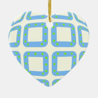 BADESD Sphere Ceramic Heart Decoration