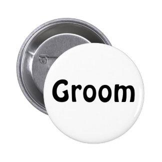 Badge - Groom Pinback Buttons