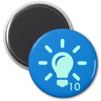 Badge Magnet - Idea 10