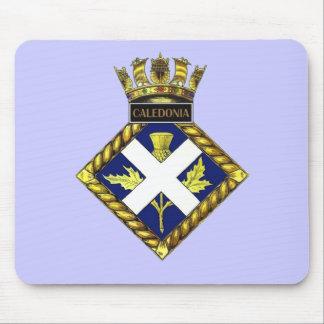 Badge of HMS Caledonia Mouse Pad