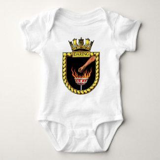 Badge of HMS Daring Baby Bodysuit
