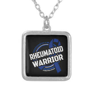 Badge...RA Silver Plated Necklace