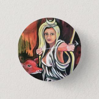 Badge: the Hunteress. 3 Cm Round Badge