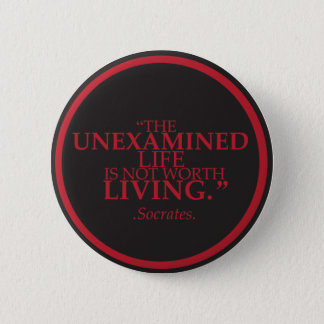 Badge with a meaningful quote