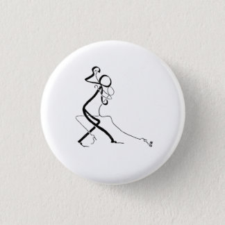 Badge with two Tango dancers