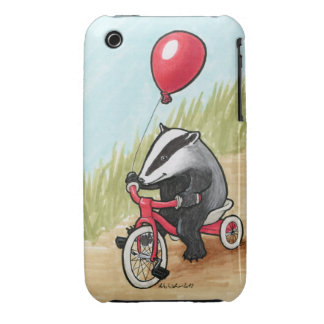 Badger At Play iPhone 3G/3GS Barely There Case