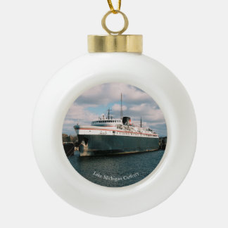 Badger ball or snowflake ornament