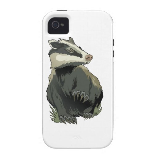 Badger Vibe iPhone 4 Case