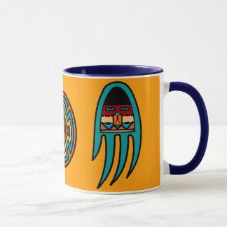 Badger Claw & Motif Mug