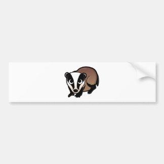 Badger Design Bumper Sticker