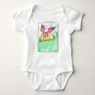 Badger Dragon Baby Bodysuit