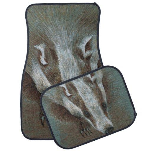 badger face car mats car mat