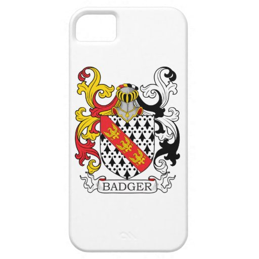 Badger Family Crest iPhone 5 Case