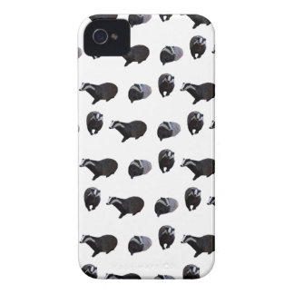 Badger Frenzy iPhone 4 Case (Choose Colour)