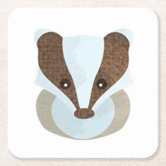 Badger Icon Coaster