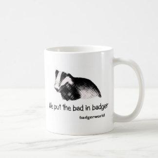 badger mug