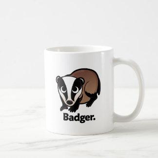 Badger. Coffee Mugs