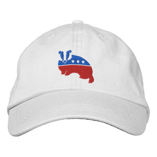 BADGER - official Decency Party (TM) cap Embroidered Baseball Cap