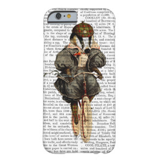 Badger on Vintage Bicycle Barely There iPhone 6 Case
