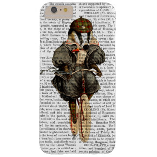 Badger on Vintage Bicycle Barely There iPhone 6 Plus Case