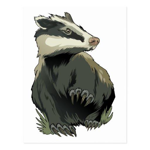 Badger Post Cards