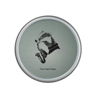 Badger Saxophone Customizable Text Speaker