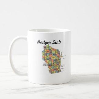 Badger State Wisconsin Mug