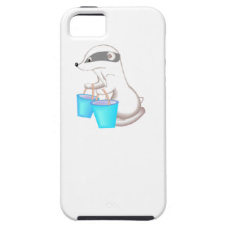 Badger With Buckets iPhone 5 Cover