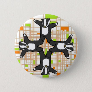 Badgers!! 6 Cm Round Badge
