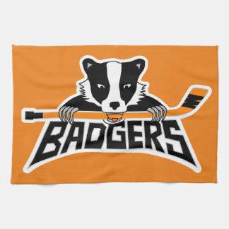Badgers Hockey Logo Towels