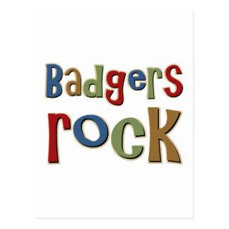 Badgers Rock Postcard